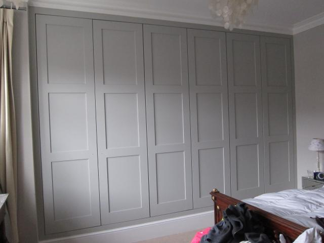 fitted wardrobes kew