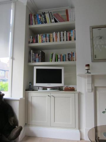 Alcove cupboards Twickenham
