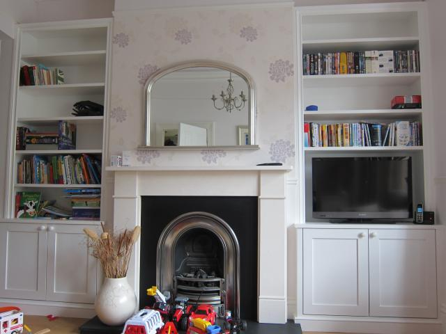 Alcove cabinets, Wandsworth